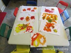 Fall Leaves by Teach Preschool