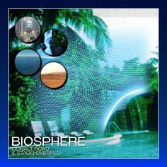 "Biosphere by Cobalt Road & STΛQQ ƟVERFLƟ "" Refreshing mix of #ambient #ethnic #newage and #vaporwave flavors"""