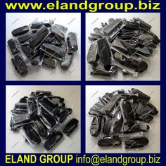 Black Leather Cone Shape Sword Knot