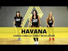 """Hope you like this dance fitness routine to """"Havana"""" by Camila Cabello feat. SHARE with your friends and COMMENT below letti. Zumba Fitness, Fitness Tips, Dance Fitness, Fitness Exercises, Zumba Videos, Dance Workout Videos, Workout Songs, Dance Workouts, Cardio Dance"""