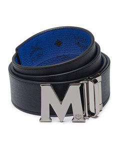 723d4af785b Claus Reversible Saffiano Leather Belt by MCM at Neiman Marcus.