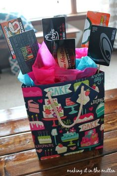 Today I'm sharing a fun birthday gift idea! My co-workers and I always try to go in on a gift together to get each person a special bir...