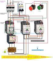 Esquemas eléctricos: Esquema eléctrico arranque estrella triángulo cone...