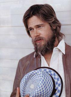 brad pitt legends of the fall Brad Pitt Hair, Brad Pitt And Angelina Jolie, I Love Beards, Hot Beards, Best Beard Styles, Hair And Beard Styles, Josh Mario John, Best Beard Oil, Natural Beard Oil