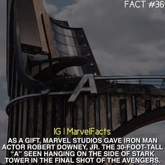 """He has it in his front yard.<<< RDJ, everyone. the man who has a freaking giant """"A"""" in his front yard."""