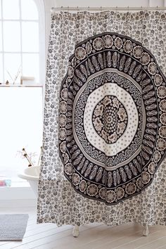 Magical Thinking Paisley Medallion Shower Curtain - Urban Outfitters