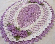 Gorgeous crochet by Sue