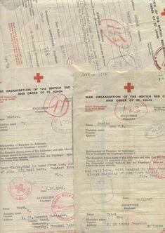 Jersey Channel Islands, Red Cross, Ww2, German, Military, Messages, Deutsch, German Language, Texting