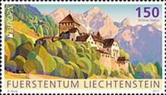 [EUROPA Stamps -  Palaces and Castles, tipo BVH]