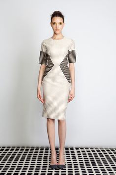 Max mara colorblock dress