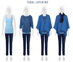 Layering ideas for Summers