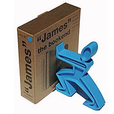 james bookend blue