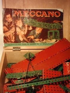 Meccano - used to borrow this from my older brother ;-)