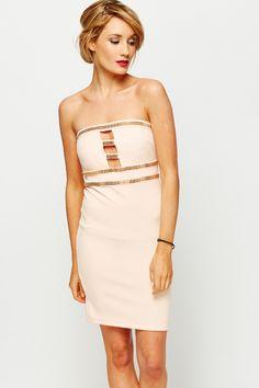 501fd43dc0 Sklep internetowy Divine Wear. Ekskluzywna sukienka koktajlowa pudrowy róż