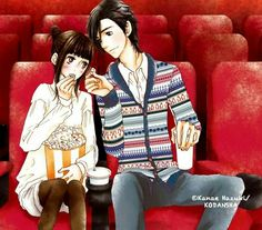 Mei y Yamato Manga Love, I Love Anime, Yamato And Mei, Anime Couples, Cute Couples, Yamato Kurosawa, Manga Anime, I Loved You First, Romance