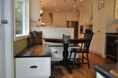 Love The Corner Bench/ Table   Houzz Like The Bench Not The Table