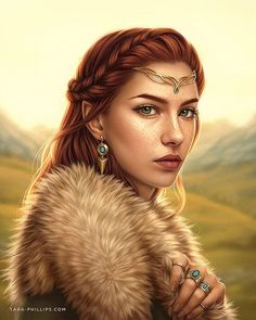Digital painting portrait of an Elven maiden Create a compelling fantasy character in Photoshop with these 14 steps. Fantasy Girl, High Fantasy, Fantasy Women, Fantasy Rpg, Medieval Fantasy, Fantasy Princess, Fantasy House, Fantasy Artwork, Fantasy Portraits
