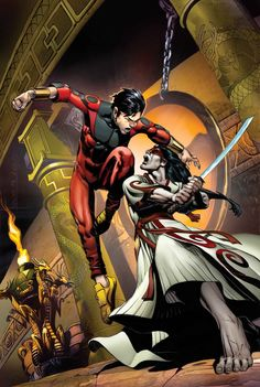 AVENGERS WORLD #3 JONATHAN HICKMAN & NICK SPENCER (W) STEFANO CASELLI (A) Cover by RAGS MORALES Variant Cover by AGUSTIN ALESSIO • Shang-Chi vs. The Gorgon-- a fight to the death for control of The Hand. • 20 straight pages of bone-crushing martial arts action, like you've never seen it before. 32 PGS./Rated T …$3.99