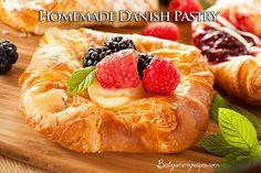 Homemade Danish pastry