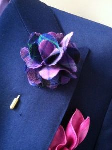 2013 Style!  The Royale Purple Lapel Pin