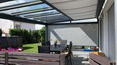 Backyard Seating, Backyard Patio Designs, Outdoor Pergola, Pergola Plans, Outdoor Rooms, Roof Terrace Design, Rooftop Design, Back Garden Design, House Extension Design