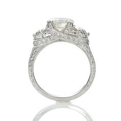 Antique Engagement Rings | Leigh Jay Nacht, New York Replica Art Deco
