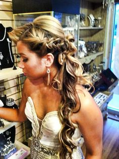 Prom hair <3