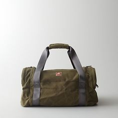 Hipster Canvas Duffle Bag