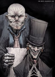 I recently delved into the various works of Neil Gaiman, First with 'The Sandman', and I'm now half way through his 'Neverwhere'. Neverwhere - Mr Croup and Mr Vandemar Character Inspiration, Character Art, Character Design, Gothic Drawings, Nos4a2, World Of Darkness, American Gods, Neil Gaiman, Mythology