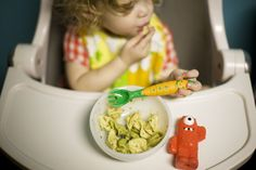 This blog has a lot of nice healthy / veggie food options for baby - good variety!