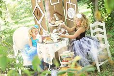 Bodell photography: Alice in Wonderland | Photo Session Ideas | Props | Prop | Child Photography | Clothing Inspiration| Fashion | Pose Idea | Poses | Tea Party