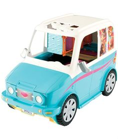 Buy a used Barbie Ultimate Puppy Mobile. ✅Compare prices by UK Leading retailers that sells ⭐Used Barbie Ultimate Puppy Mobile for cheap prices. All Toys, Toys R Us, Barbie And Her Sisters, Barbie Website, Playground Set, Play Spaces, Barbie World, Kids Store, Toys For Girls