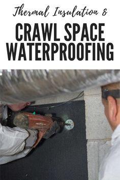 Crawl Space Repair, Foundation Repair, Thermal Insulation
