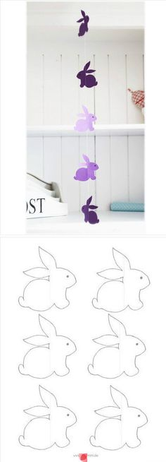 DIY... bunny templates