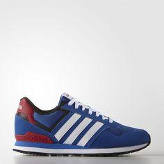 promo code 8c3b8 8ea7c Adidas 10k Mens Shoes Blue White Core Black Aw4685