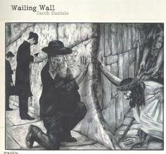 "Jacob Daniels, ""Wailing Wall"" - 2009 Print Edition #art #graphite"