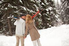 A sparkling ski date!