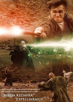 Harry Potter versus Lord Voldemort
