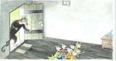 Meer verhalen van de sprookjesverteller - Thé Tjong-Khing/ de Wolf en de zeven geitjes