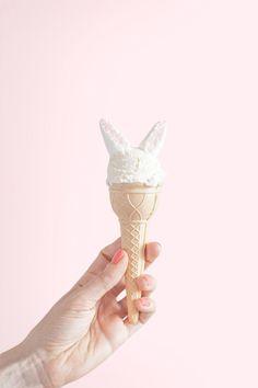 Honey bunny ice cream