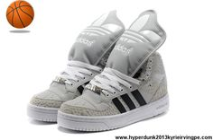 Sale Discount Adidas X Jeremy Scott Big Tongue Villi Shoes Khaki White
