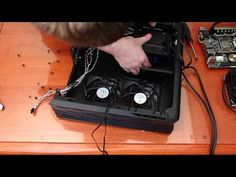 Silverstone Raven RVZ01 Build - Compact High Performance Gaming - YouTube