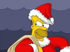 Homer x christmas