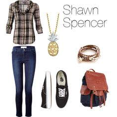 """""""Shawn Spencer"""" by upallnight21 on Polyvore"""