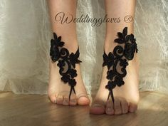 bridal anklet, black Beach wedding barefoot sandals, bangle, wedding anklet, free ship, anklet, bridal, wedding