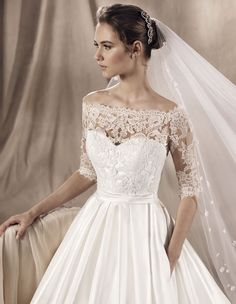 wedding dress yaiza