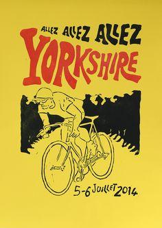 Folksy - Allez, Allez! In honour of the Tour de France...