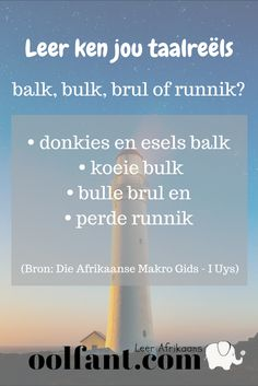 Gebruik gerus hierdie gratis hulpbron om jou kennis van Afrikaans te verbeter. Teken in en kry elke dag 'n paar vrae om te antwoord. Speech Language Pathology, Speech And Language, Afrikaans Language, Afrikaanse Quotes, Teachers Aide, Word Play, Teacher Quotes, Worksheets For Kids, Educational Activities