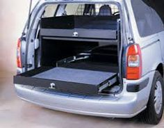 Image result for lightweight storage for work vans