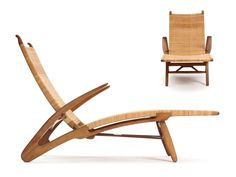 the Dolphin Chaise by Hans Wegner | From a unique collection of antique and modern lounge chairs at http://www.1stdibs.com/furniture/seating/lounge-chairs/